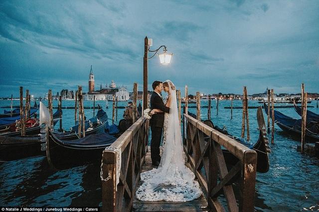 Bức ảnh được chụp ở Venice, Ý.