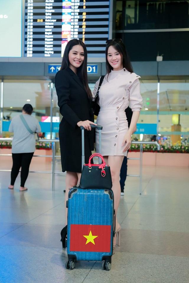 Hoa khôi Khả Hân lên đường thi Hoa hậu Việt Nam Thế giới 2018 - 3