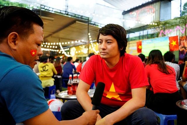 Để thủng lưới chỉ sau 8 phút khai cuộc, bị dẫn 2 bàn trong hiệp đầu, các cầu thủ Việt Nam vẫn tỉnh táo, kiên cường trước tuyển thủ Hàn Quốc. Ông Tuấn Anh cho rằng, đội tuyển Việt Nam đã giành chiến thắng về tính chuyên nghiệp và tinh thần thi đấu bền bỉ, ông rất ấn tượng về điều này.