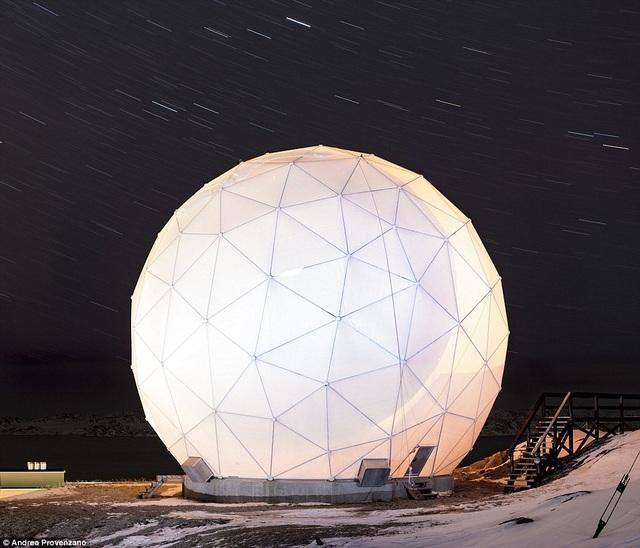 Một trung tâm nghiên cứu khoa học ở Nuuk, Greenland.