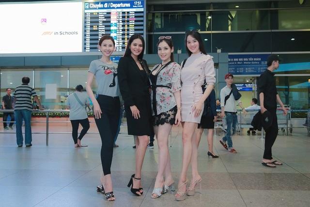 Hoa khôi Khả Hân lên đường thi Hoa hậu Việt Nam Thế giới 2018 - 4