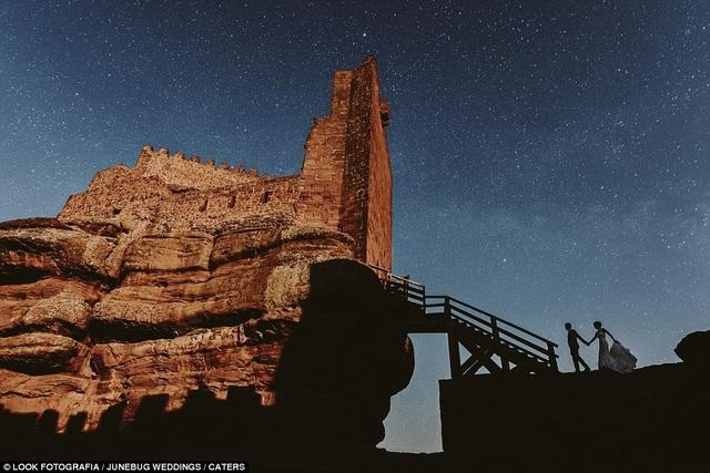 Ảnh chụp ở lâu đài Peracense, Teruel, Tây Ban Nha.