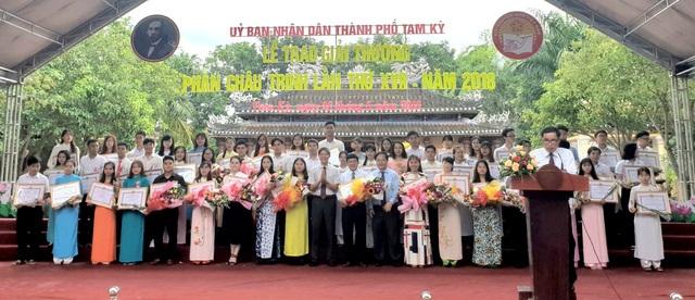 Các cá nhân được nhận giải thưởng Phan Châu Trinh 2018