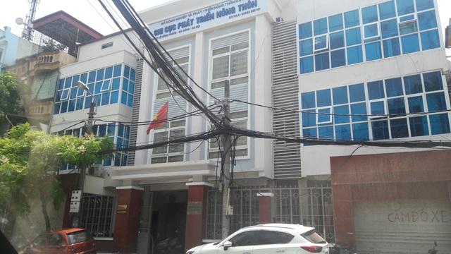 Chi cục Phát triển nông thôn thuộc Sở Nông nghiệp và Phát triển nông thôn Hà Nội đang nảy sinh nhiều chuyện ồn ào dư luận (Ảnh: Thế Kha).