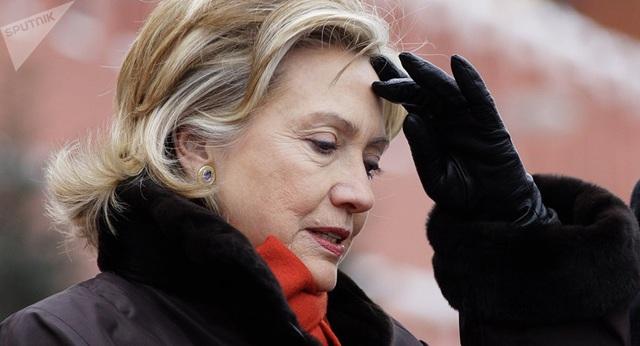 Cựu Ngoại trưởng Mỹ Hillary Clinton (Ảnh: Sputnik)