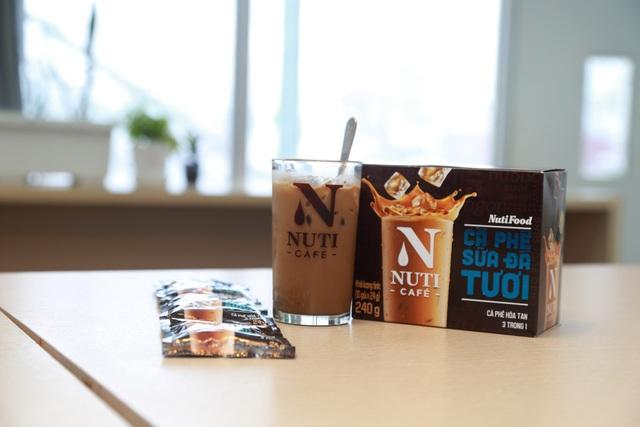 Ngon chính là yếu tố mà mọi sản phẩm của NutiFood đều phải đạt được, Nuticafé – Cà phê sữa đá tươi cũng không ngoại lệ