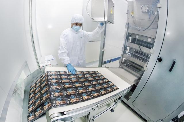 Công nghệ Ice Flash hiện đại được đầu tư để Nuticafé – Cà phê sữa đá tươi giữ được vị tươi nhất của hạt cà phê