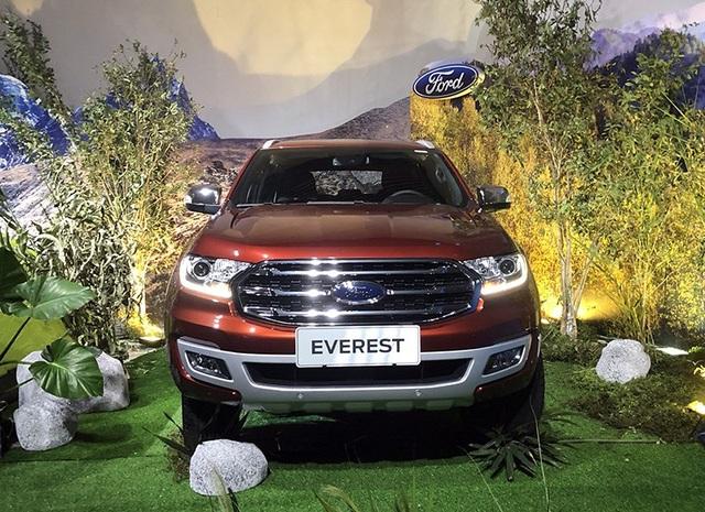 Ford Everest trở lại thị trường Việt Nam với giá 1,1 tỉ đồng - 1