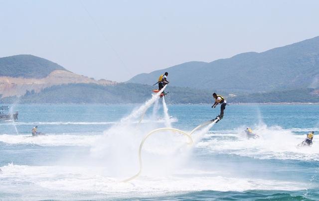 Nha Trang có lợi thế về biển đảo và các dịch vụ thể thao trên biển