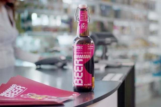 Bia dành cho bệnh nhân ung thư.