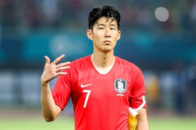Son Heung Min là ngôi sao đáng chú ý nhất của Olympic Hàn Quốc