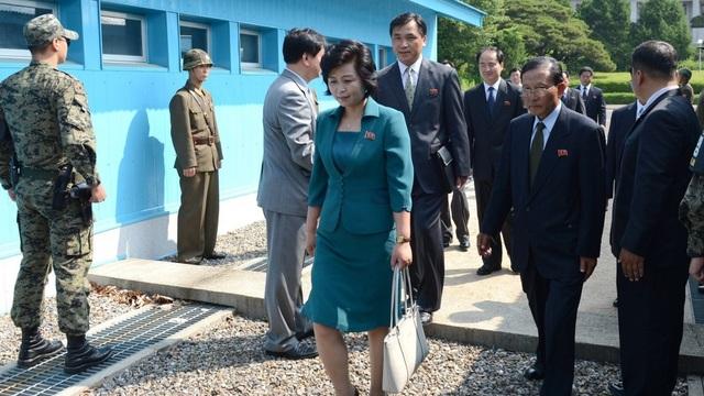 Bà Kim Song-hye, quan chức phụ trách vấn đề tái thống nhất liên Triều (Ảnh: Reuters)