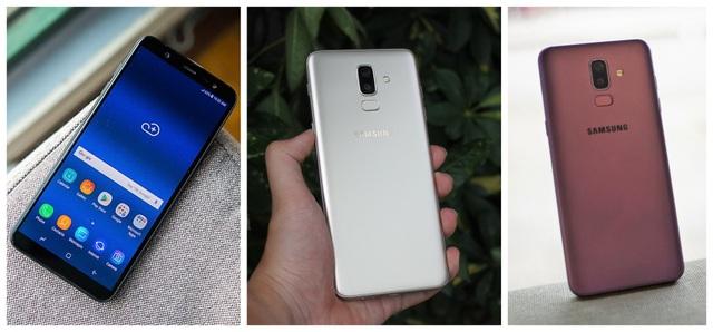 Dòng máy Galaxy J của Samsung ngày càng được thừa hưởng nhiều từ thành công của đàn anh, nhất là camera và thiết kế ấn tượng