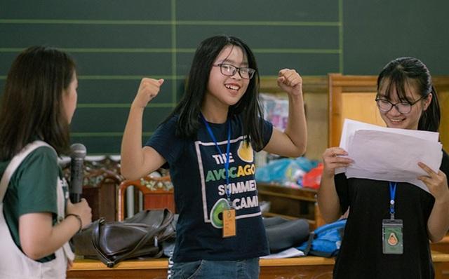 Trại hè giúp những em học sinh tự tin hơn và có cơ hội thể hiện khả năng hùng biện, phát huy những mặt tích cực của bản thân.