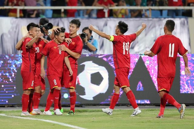 Olympic Việt Nam sẽ lại có những thử nghiệm ở trận đấu thứ 2 (ảnh: Gia Hưng)