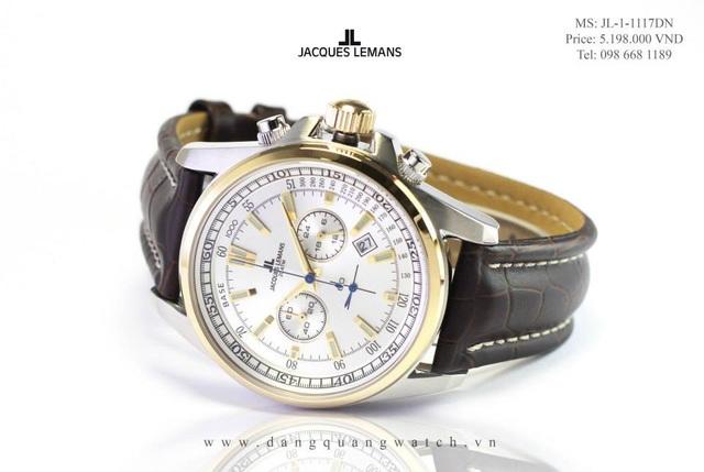 Ưu đãi giảm ngay 10% khi sắm đồng hồ Jacques Lemans ngay trong tháng này - 3