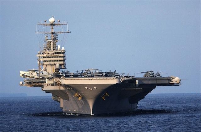 Phim được quay trên tàu sân bay của Hải quân Mỹ.