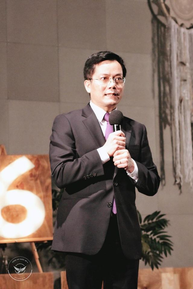 Ông Hà Kim Ngọc, Đại sứ Việt Nam tại Hoa Kỳ phát biểu khai mạc sự kiện Vòng tay nước Mỹ 6.