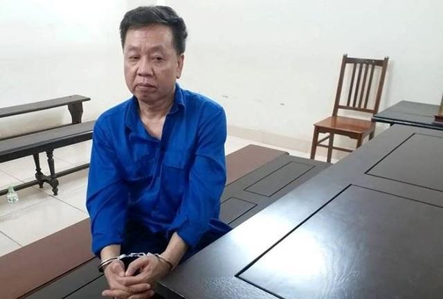 Phạm Công Giang tại tòa.