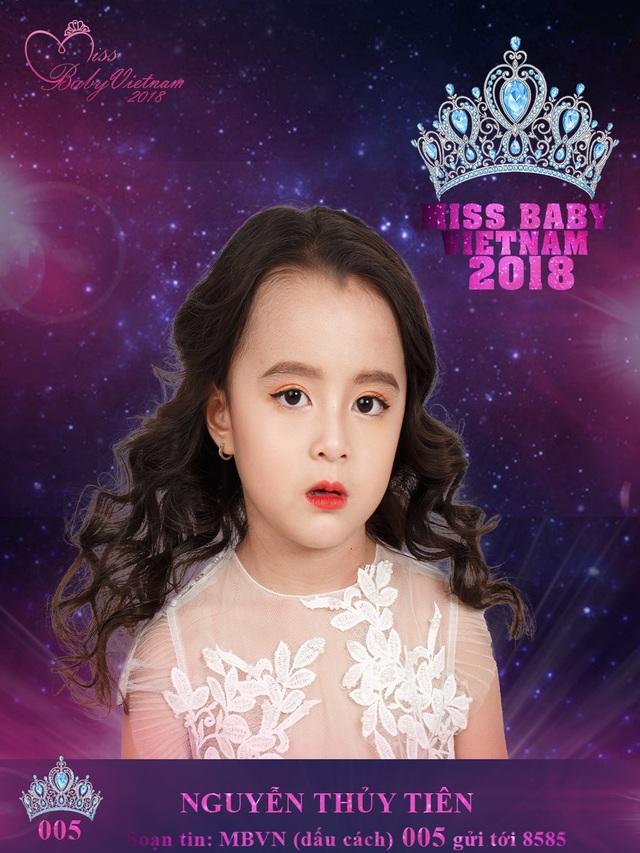 Nguyễn Thủy Tiên - Cô bé Hà Nội gây ấn tượng tại Miss baby Việt Nam 2018 - 6
