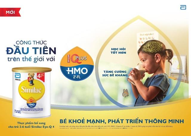Similac® Eye-Q Plus là sữa công thức được chứng minh lâm sàng
