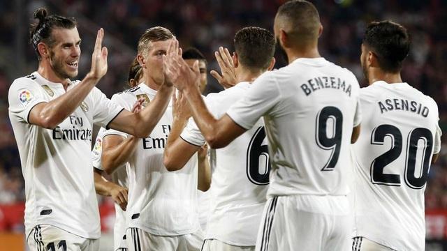Real Madrid nằm ở bảng đấu dễ thở