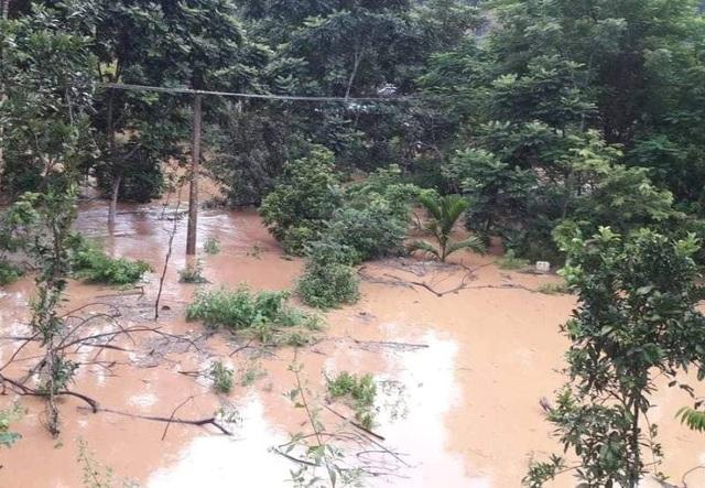 Nhiều bản làng tại huyện Quan Hóa bị nhấn chìm