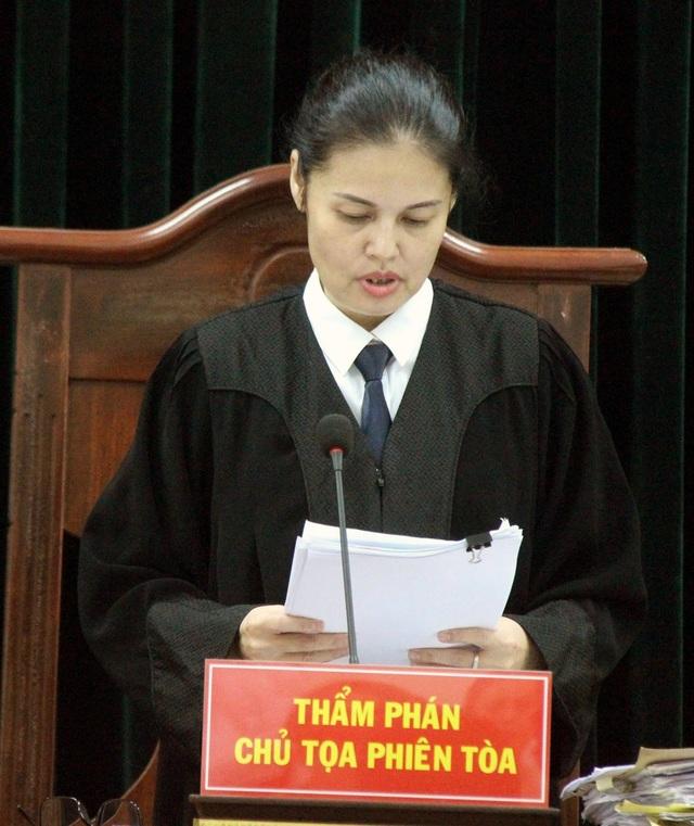 Tòa tuyên án chiều 31/8.