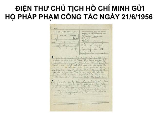 Cận cảnh những hiện vật quý về Bác Hồ tại Bảo tàng Hồ Chí Minh - 12