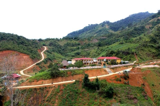 Trường học ở vùng cao Tây Giang