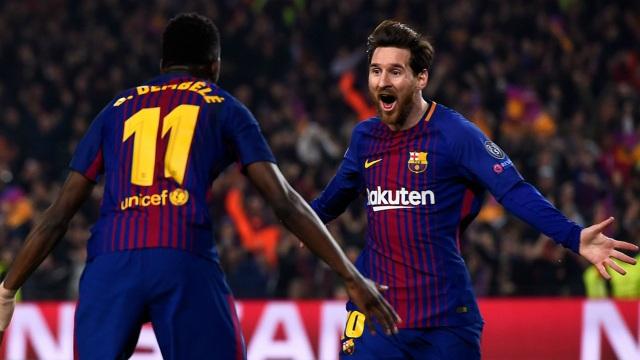 Barcelona rơi vào bảng đấu khó khăn
