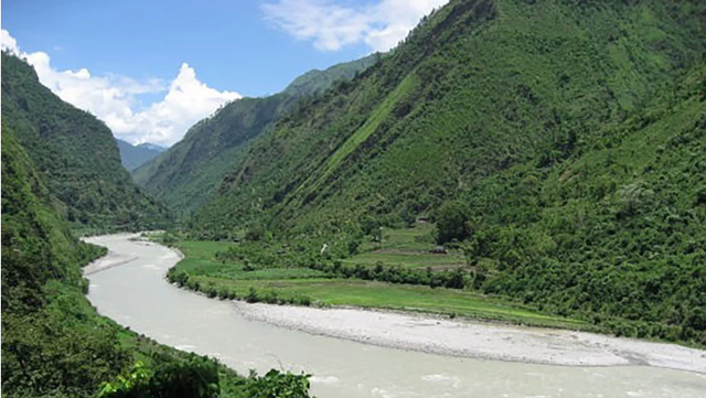 Sông West Seti tại Nepal (Ảnh: SCMP)