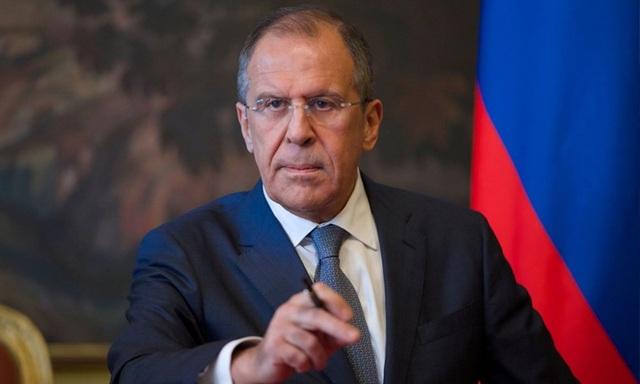 Ngoại trưởng Nga Sergei Lavrov (Ảnh: AFP)