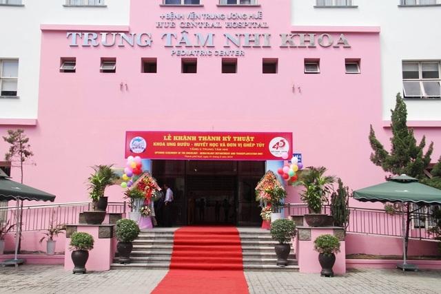 Khánh thành Khoa Ung bướu – huyết học Nhi và Đơn vị ghép tủy Nhi khoa tại Bệnh viện Trung ương Huế