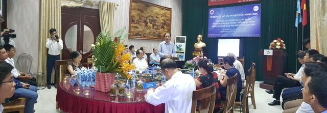 (Hội thảo: ý nghĩa của cây ngải tiên với bệnh đại tràng tại Tả Phìn Hồ - Hà Giang)