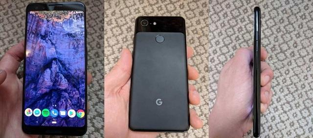 Mặt trước, mặt sau và cạnh bên của Pixel 3 có nhiều khác biệt so với phiên bản cũ
