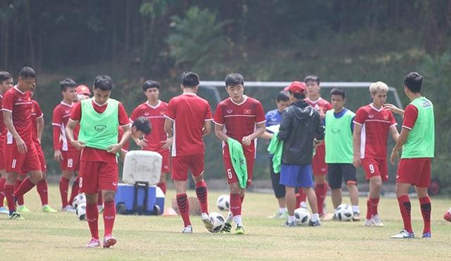 HLV Park Hang Seo sẽ thay đổi nhiều về đội hình ở trận gặp UAE