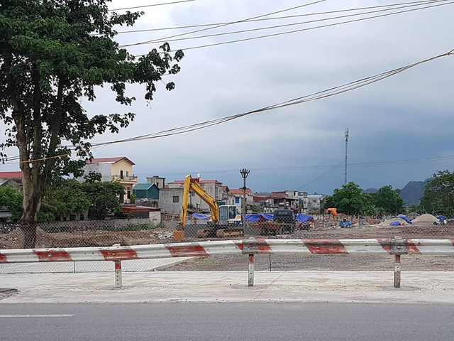 Công ty CP Bê tông thép xây dựng trái phép trên diện tích đất 4ha được UBND tỉnh Ninh Bình cấp tại phường Ninh Phong, TP.Ninh Bình.