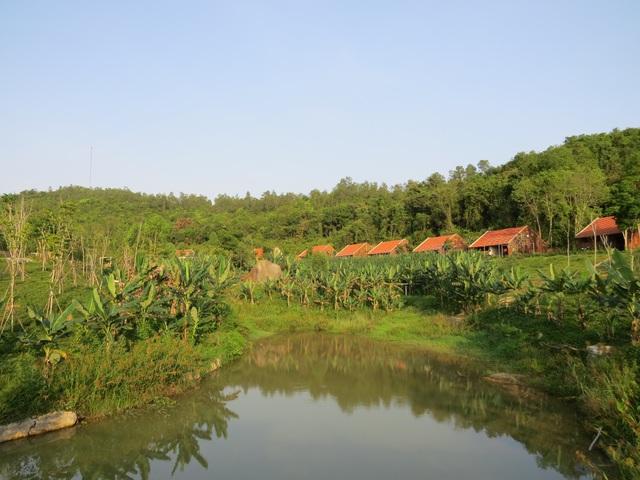 Toàn cảnh khu sinh thái Mường Thanh Diễn Lâm
