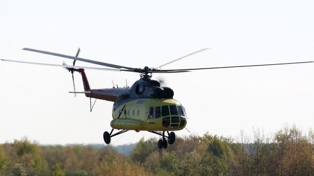Trực thăng Mi-8 (Ảnh: Utair airline)