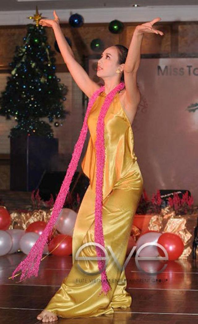 Sau khi đăng quang Hoa hậu Du lịch Việt Nam, Ngọc Diễm được đề cử tham dự cuộc thi Hoa hậu Trái Đất 2008, nhưng vì không kịp thủ tục cấp phép nên cô đành lỡ hẹn. Sau đó, Ngọc Diễm lên đường sang Malaysia, đại diện cho sắc đẹp và du lịch Việt Nam thi Hoa hậu Du lịch Quốc tế 2008. Tại cuộc thi, Ngọc Diễm để lại hình ảnh cô gái Việt Nam tự tin, thông minh.