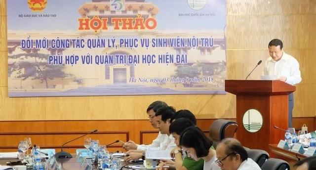 PGS.TS Nguyễn Hồng Sơn- Phó Giám đốc ĐH Quốc gia Hà Nội