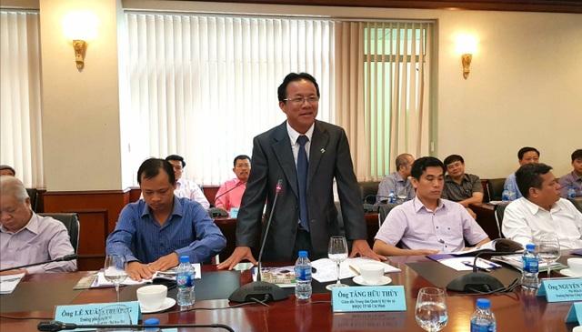 Ông Tăng Hữu Thủy, Giám đốc Trung tâm Quản lí KTX, ĐH Quốc gia Thành phố Hồ Chí Minh