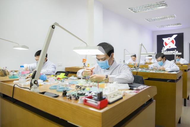 Đội ngũ kỹ thuật được đào tạo bài bản