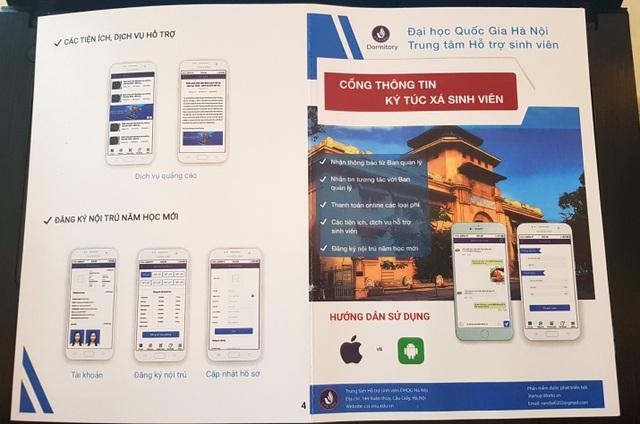 Phần mềm App quản lí trên điện thoại của Đại học Quốc gia Hà Nội