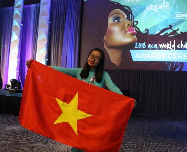 Nữ sinh Trần Thảo Nguyên giành Huy chương Đồng tại cuộc thi Vô địch Thiết kế Đồ họa Thế giới - ACAWC 2018.