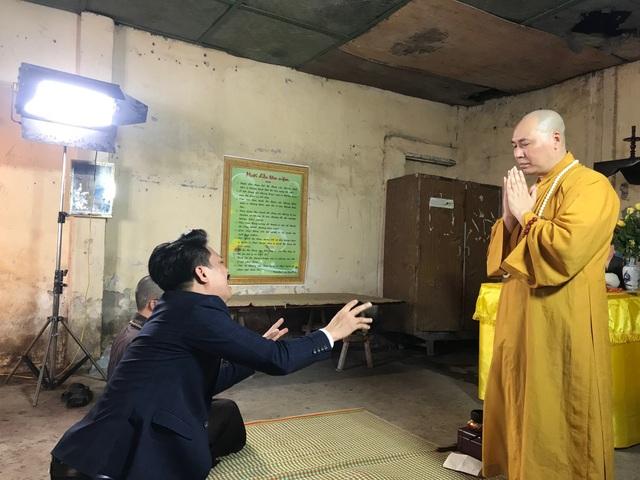 Sư thầy phá lệ tham gia phim để lan tỏa lời dạy của Phật.
