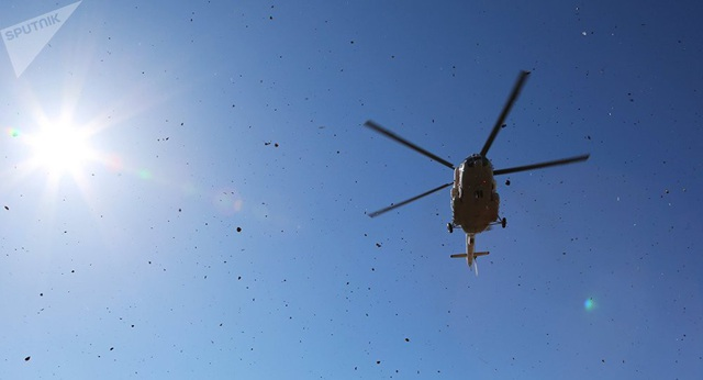 Một trực thăng Mi-8 (Ảnh minh họa: Sputnik)