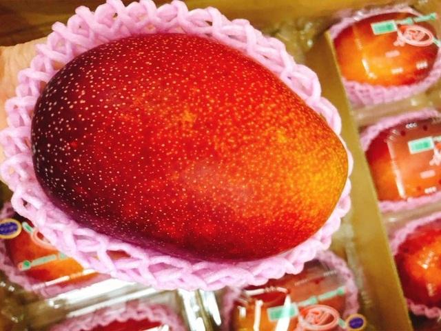 Tại Việt Nam, giá xoài này dao động từ 1-1,7 triệu đồng/quả, loại thượng hạng dãn nhãn trứng của Mặt trời lên tới 2,5 triệu đồng/quả.