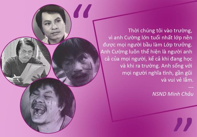 """""""Thị Nở"""" Đức Lưu bàng hoàng khi nghe tin NSƯT Bùi Cường qua đời"""